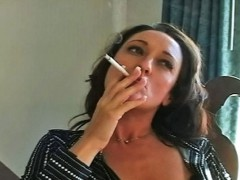 Michelle Cums Over With Cigarettes - You met foxy Michelle online, and before long you\'re confessing you have a smoking fetish. Michelle has never indulged this fetish before, but she\'s a life-long smoker and willing to try anything. Michelle comes over with a fresh pack Marlboro 100s, and you know right away this girl\'s a natural. Watch as Michelle sensually smokes for you, caressing her voluptuous legs and breasts as she writhes in clouds of gauzy smoke.<br><br>Do you like this sample video?<br><a href=go/PureSmoking>Join PureSmoking</a> to see the Full video!video