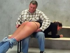 Spanking Jane - Watch naughty Jane get what she deserves in this hot ass spanking film.  The taskmaster pulls her across his lap and begins the spanking session.  He then demands Jane to pull down her jeans and slowly turns her behind a lovely shade of pink.   Jane cries out in a mix of pleasure and pain as the taskmaster gives her a firm ATK spanking that she will never forget.<br><br>Do you like this sample video?<br><a href=go/EliteSpanking>Join EliteSpanking</a> to see the Full video!video